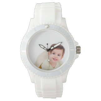Create Your Own Custom White Sporty Watch