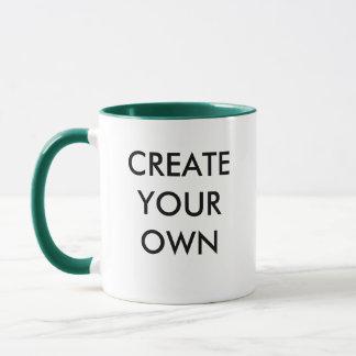 Create Your Own Customisable Combo Mug GREEN