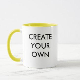 Create Your Own Customisable Combo Mug YELLOW