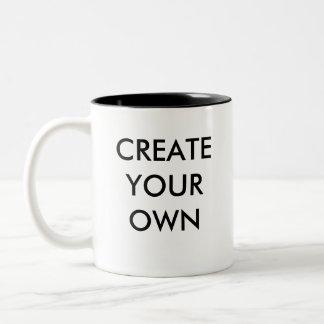 Create Your Own Customisable Two-Tone Mug BLACK