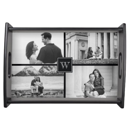 Create Your Own Customisable Wedding Photo Collage Serving