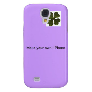 Create Your Own Customizable Case ! Violet Samsung Galaxy S4 Cases