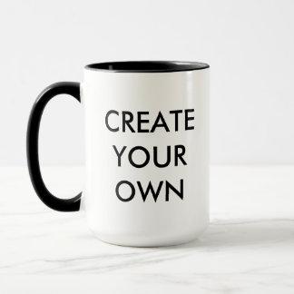 Create Your Own Customizable Combo Mug BLACK