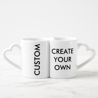 Create Your Own Customizable Lovers' Mugs