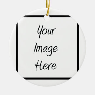 Create Your Own - Customize Blank Christmas Ornament