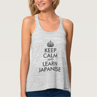 Create Your Own Dark Grey Keep Calm and Your Text Tank Top