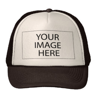 CREATE YOUR OWN - DESIGN YOUR OWN - BLANK MESH HAT