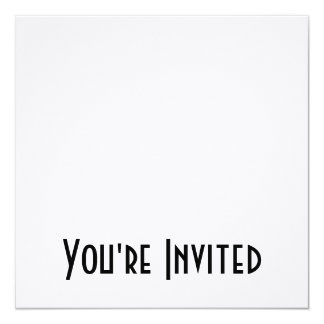 CREATE YOUR OWN - DESIGN YOUR OWN - BLANK 13 CM X 13 CM SQUARE INVITATION CARD