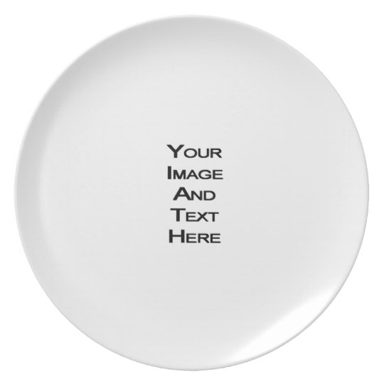 Create Your Own Dinner Plates