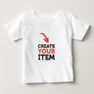 CREATE-YOUR-OWN DIY CUSTOM (Color Options) Baby T-Shirt