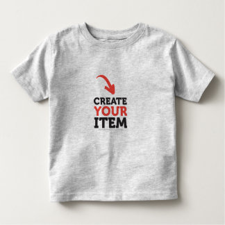 CREATE-YOUR-OWN DIY CUSTOM (Color Options) Toddler Toddler T-Shirt