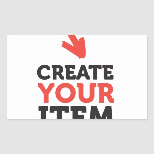 CREATE-YOUR-OWN DIY Custom Print (Colour Options) Rectangular