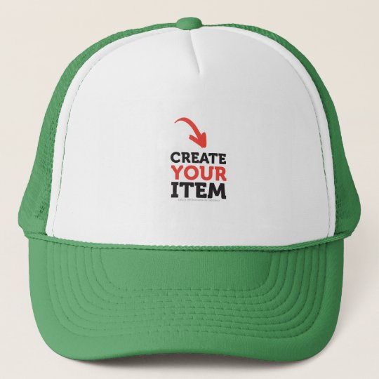 CREATE-YOUR-OWN DIY Custom Print GREEN Hat