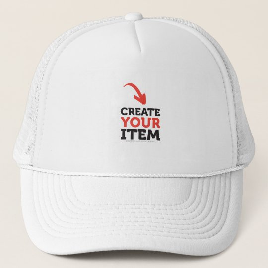 CREATE-YOUR-OWN DIY Custom Print WHITE hat