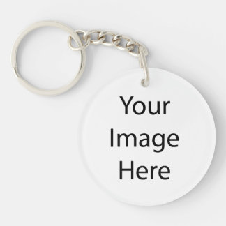 Create Your Own Double-Sided Round Acrylic Key Ring