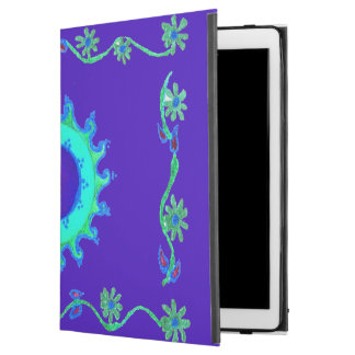 "Create Your Own Early Merry Christmas Lovely Blue iPad Pro 12.9"" Case"