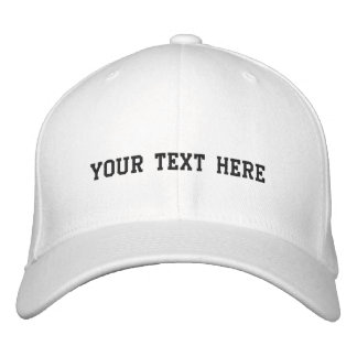 Create Your Own Embroidered Baseball Caps
