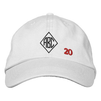 Create Your Own Embroidered Custom Monogram V20 Embroidered Baseball Caps
