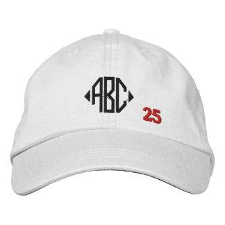 Create Your Own Embroidered Custom Monogram V25 Baseball Cap