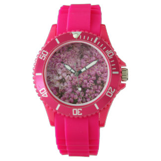 Create your own floral photo watch