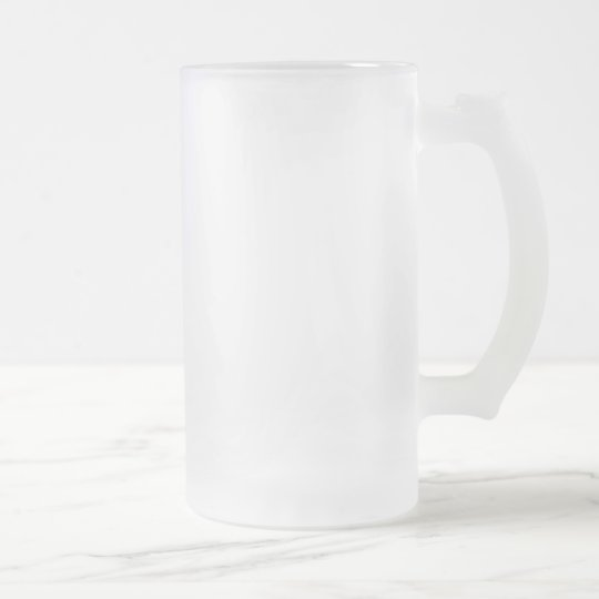 Create Your Own Frosted 16 oz Frosted Glass Mug