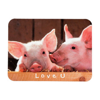 Create Your Own Funny Photo Love You Custom Rectangular Photo Magnet