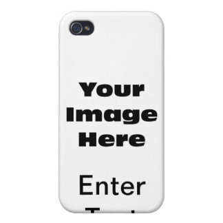 Create Your Own Gift Template iPhone 4 Cases