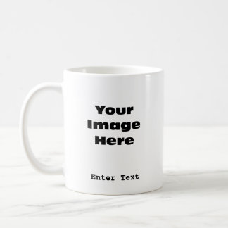 Create Your Own Gift Template Coffee Mug