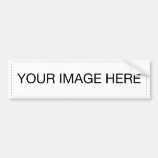 ♪♫♪ Create Your Own Gifts ~ Customize Blank Bumper Sticker