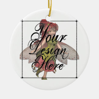 ♪♫♪ Create Your Own Gifts ~ Customize Blank Round Ceramic Decoration