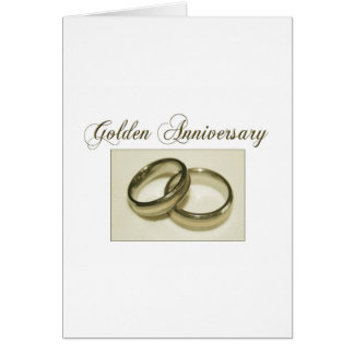 Create your own Golden Anniversary Cards