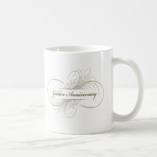 Create Your Own Golden Anniversary Design Mugs