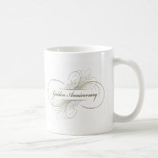 Create Your Own Golden Anniversary Design Mugs
