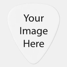 Create Your Own Guitar Pick at Zazzle