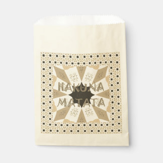 Create Your Own Hakuna Matata Favour Bags