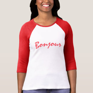 Create Your Own Hello in French T-Shirt