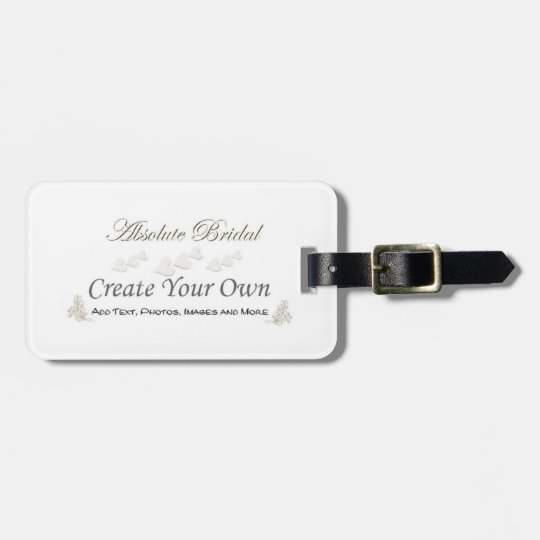 Create Your Own Honeymoon Luggage Tags