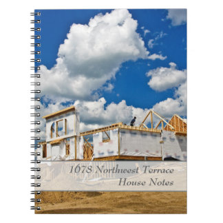 Create Your Own House or Construction Notebook