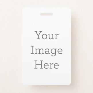 Create Your Own ID Badge