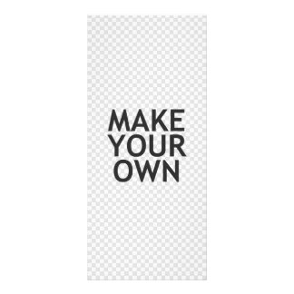 Create Your Own in One Easy Step Rack Card Design