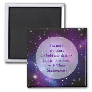 Create Your Own Inspirational Quote Square Magnet