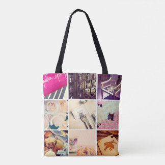 Create Your Own Instagram All-Over-Print Tote Bag