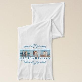 Create Your Own Instagram Beach Wedding Monogram Scarf