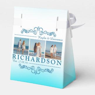 Create Your Own Instagram Beach Wedding Monogram Wedding Favour Box