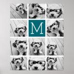 Create Your Own Instagram Collage Custom Monogram