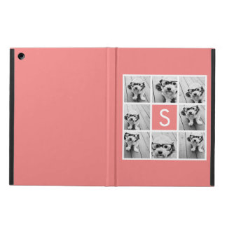 Create Your Own Instagram Collage Custom Monogram iPad Air Case