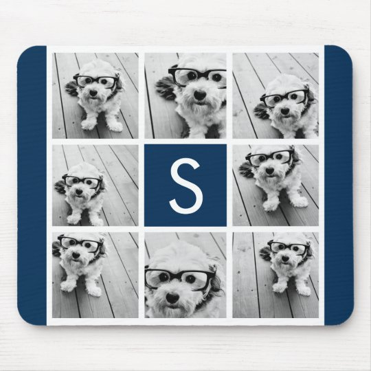 Create Your Own Instagram Collage Custom Monogram Mouse