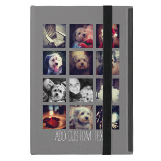 Create Your Own Instagram Collage Custom Text iPad Mini Case