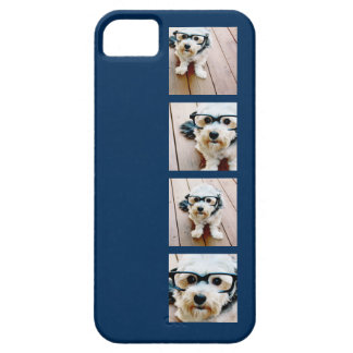 Create Your Own Instagram Collage Navy 4 Pictures Case For The iPhone 5