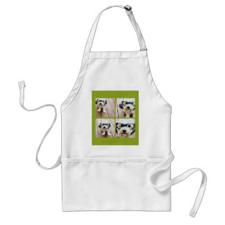 Create Your Own Instagram Collage Pistachio 4 pics Standard Apron
